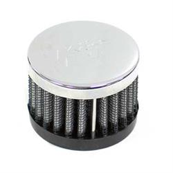 K&N 62-1220 Crankcase Vent Air Filter, 1.5 in. Tall, 2 in. OD