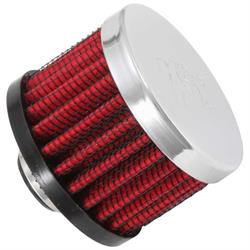 K&N 62-1320 Crankcase Vent Air Filter, 1.5 in. Tall, 2 in. OD
