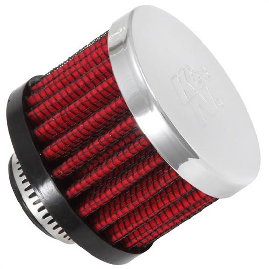 K&N 62-1340 Crankcase Vent Air Filter, 1.5 in. Tall, 2 in. OD