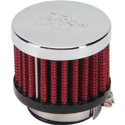 K&N 62-1370 Crankcase Vent Air Filter, 1.5 in. Tall, 2 in. OD