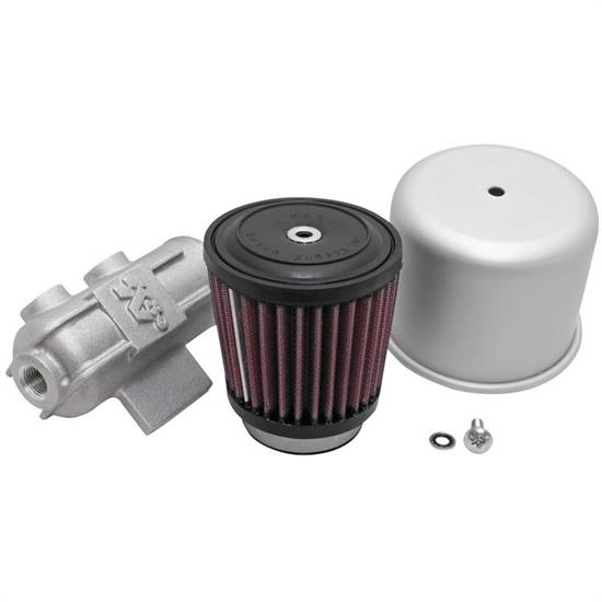 K&N 62-1400 Crankcase Vent Air Filter, 3.5 in. Tall, 3.5 in. OD