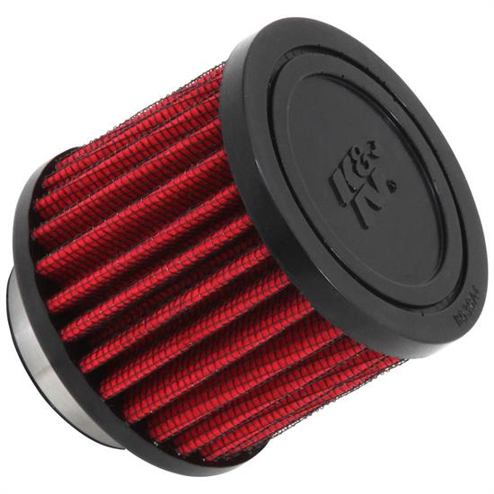 K&N 62-1450 Crankcase Vent Air Filter, 2.5 in. Tall, 3 in. OD