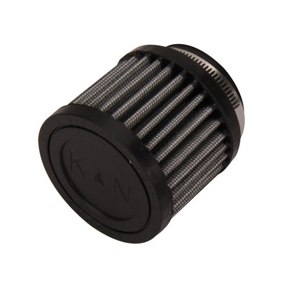 K&N 62-1470 Crankcase Vent Air Filter, 2.5 in. Tall, 3 in. OD