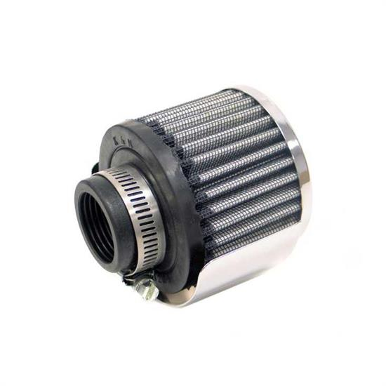 K&N 62-1512 Crankcase Vent Air Filter, 2.5 in. Tall, 3 in. OD