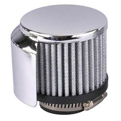 Speedway Valve Cover Shielded Breather Filter, 1-3/8 Inch