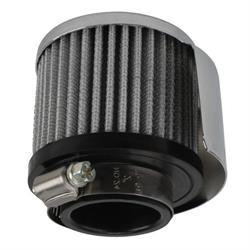 Speedway Valve Cover Shielded Breather Filter, 1-1/2 Inch