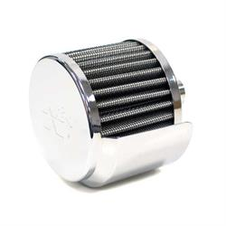 K&N 62-1517 Crankcase Vent Air Filter, 2.5 in. Tall, 3 in. OD