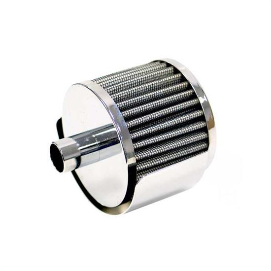 K&N 62-1518 Crankcase Vent Air Filter, 2.5 in. Tall, 3 in. OD