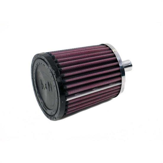 K&N 62-1550 Crankcase Vent Air Filter, 4 in. Tall, 3.5 in. OD