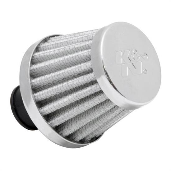 K&N 62-1600WT Synthetic Crankcase Vent Air Filter, 1.75 Tall x 2.0 OD