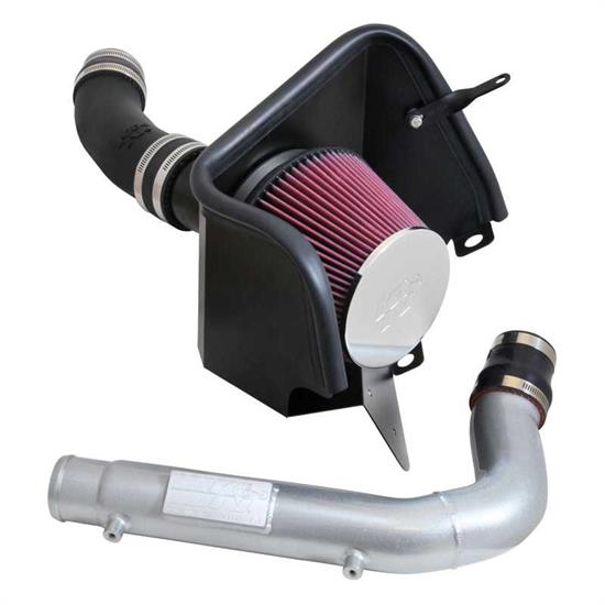 K&N 63-1570 63 Series Aircharger Performance Intake Kit, Jeep 3.0L