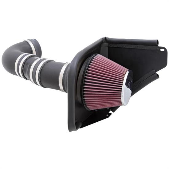 K&N 63-3071 63 Series Aircharger Intake Kit, Chevy 6.2L, Pontiac 6.0L