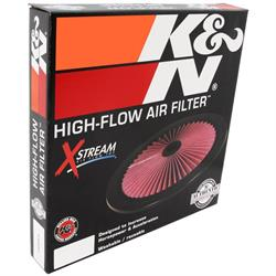 K&N 66-1401XP X-Stream Airflow Filter Assembly Top, 1 Tall, Round Lid