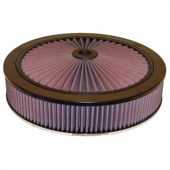 K&N 66-3010 X-Stream Airflow Air Filter Assembly, 3.063in Tall, Round