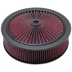 K&N 66-3020 X-Stream Airflow Air Filter Assembly, 14 x 4, Raised Base
