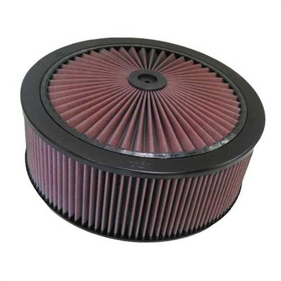 K&N 66-3030 X-Stream Airflow Air Filter Assembly, 14 x 5, Raised Base