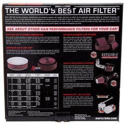 K&N 66-3040 X-Stream Airflow Air Filter Assembly, 3.063in Tall, Round