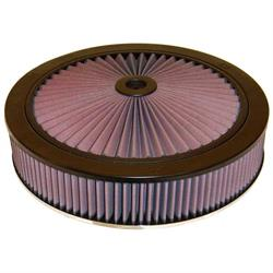 K&N 66-3050 X-Stream Airflow Air Filter Assembly, 3.063in Tall, Round