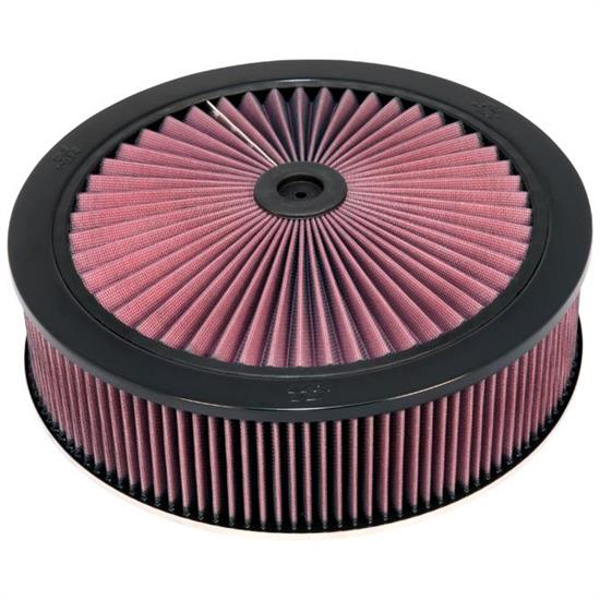 K&N 66-3060 X-Stream Airflow Air Filter Assembly, 14 x 4, Drop Base