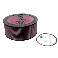K&N 66-3100 X-Stream Airflow Air Filter Assembly, 14 x 6, Dominator