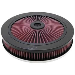K&N 66-3110 X-Stream Airflow Air Filter Assembly, 2.188in Tall, Round
