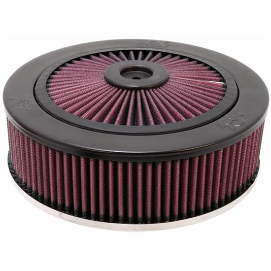 K&N 66-3150 X-Stream Airflow Air Filter Assembly, 2.875in Tall, Round