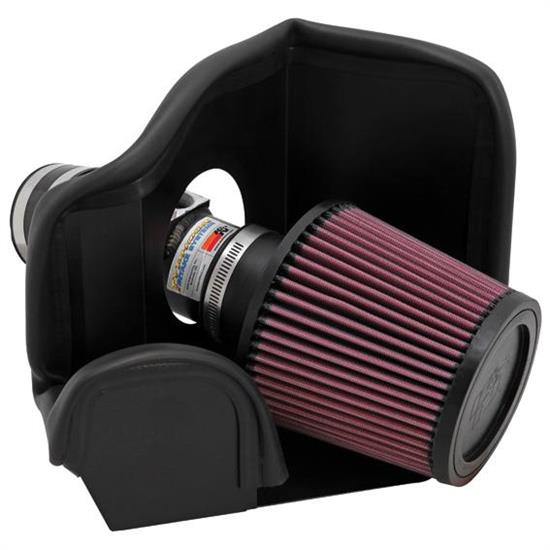 K&N 69-6013TTK 69 Series Typhoon Performance Intake Kit, Mazda 2.5L