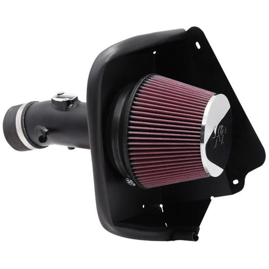 K&N 69-7002TTK 69 Series Typhoon Performance Intake Kit, Nissan 3.5L