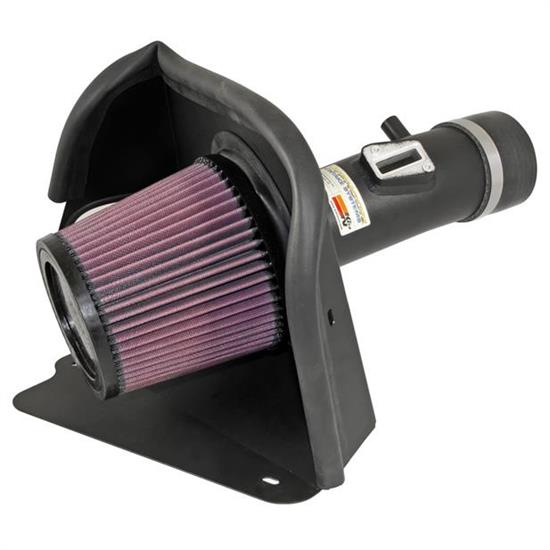 K&N 69-7062TTK 69 Series Typhoon Performance Intake Kit, Nissan 3.5L