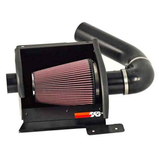 K&N 77-2570KTK 77 Series High-Flow Performance Intake, Ford 5.4-6.8