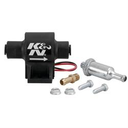 K&N 81-0400 Electric Fuel Pump, Inline, 15 GPH, 2 PSI, 5/16 Inch Line