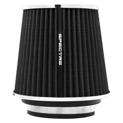Spectre 8131 Conical Filter, Black, 6.719in Tall, Round Tapered