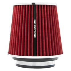 Spectre 8132 Conical Filter, Red, 6.719in Tall, Tapered Conical