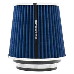 Spectre 8136 Conical Filter, Blue, 6.719in Tall, Round Tapered