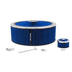Spectre 847646 Extraflow Air Filter Assembly 5 In Tall, Blue