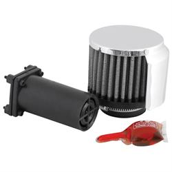 K&N 85-1222 Air Filter Vent Kit, 2.5 in. Tall, 3 in. OD