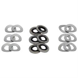 K&N 85-8221 Air Intake Hardware Kit, Wave Type Steel Washers, Set/12