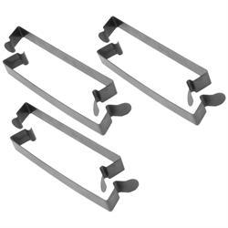 K&N 85-83893 Air Cleaner Spring Clips, 6 Pack, .750 x 5.99 Inch