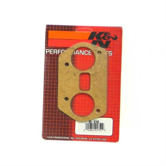 K&N 85-9783 Air Cleaner Mounting Gasket, Dellorto DRLA 45-48, Paper