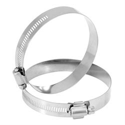 Spectre 95041 Hose Clamp, Stainless Steel, 3-1/2 Inch, Pair