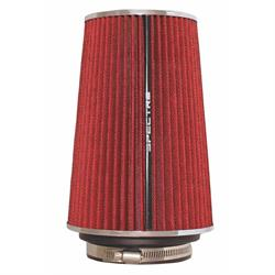 Spectre 9732 Conical Filter, Red, 8.75in Tall, Round Tapered