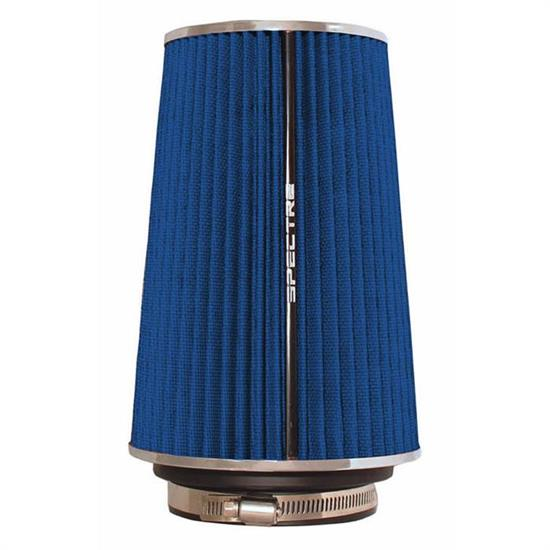 Spectre 9736 Conical Filter, Blue, 8.75in Tall, Round Tapered