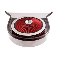 Spectre 98323 Air Filter Assembly, 3in Tall, Red