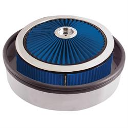 Spectre 98562 Air Filter Assembly, 5in Tall, Blue