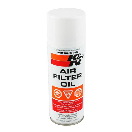 K&N 99-0516 Air Filter Oil, Filtercharger, 12.25 oz Aerosol