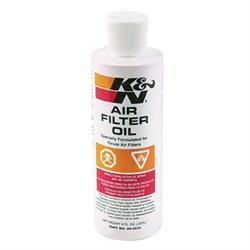 K&N 99-0533 Air Filter Oil, 8oz Squeeze Bottle