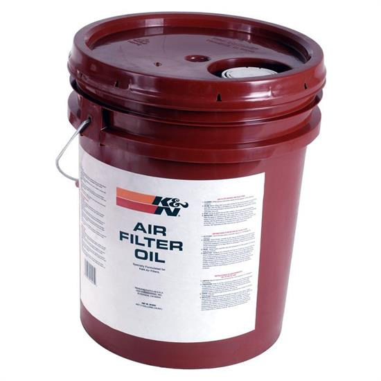 K&N 99-0555 Air Filter Oil, 5 Gallons