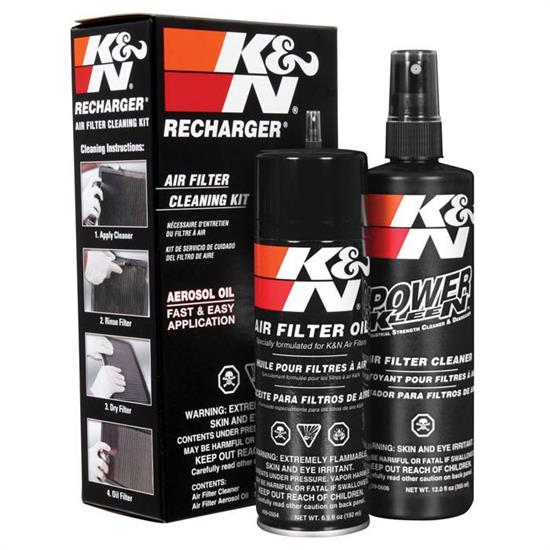 K&N 99-5000 Air Filter Care Service Kit, Pump/Aerosol