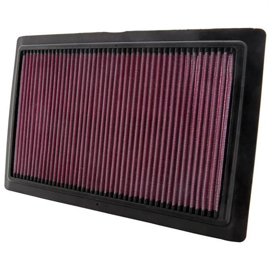 K&N BU-1108 Powersports Air Filter, Buell 1125