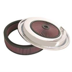 K&N CE-1503 Air Filter w/X-Stream Lid, 4.5in Tall, Round